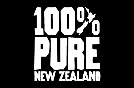 100% Pure New Zealand logo